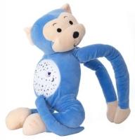 """Мягкая музыкальная игрушка """"Обезьяна"""" с проектором Funmuch. 36218"""