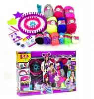 Набор для девочек (вязание крючком) JIADIHONG. 39703