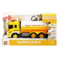 Машина с водяной помпой (желтый) JIADIHONG. 37310