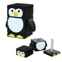 """Деревянная пирамидка """"Пингвин"""" JIADIHONG. 39926"""