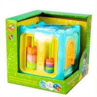 """Интерактивная игрушка """"Развивающий куб"""" 6 в 1 Mommy Love. 38977"""