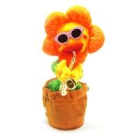 Интерактивный цветок (желтый) JIADIHONG. 39002