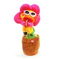 Интерактивный цветок (розовый) JIADIHONG. 39003
