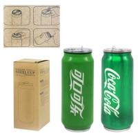 """Термос-термокружка """"Coca-Cola"""" (зеленый) JIADIHONG. 36163"""