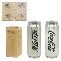 """Термос-термокружка """"Coca-Cola"""" (серебристый) JIADIHONG. 36164"""