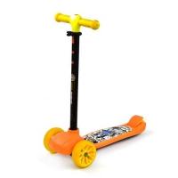 """Самокат трехколесный """"Best Scooter"""" (оранжевый) JIADIHONG. 40206"""