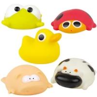 """Набор игрушек для купания """"Зверушки"""" (5 шт) BeBeLino. 36750"""