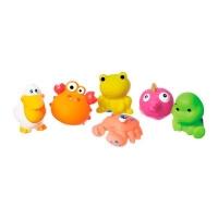 """Набор игрушек для купания """"Морские животные"""" (6 шт) BeBeLino. 36751"""