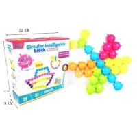 """Развивающая игрушка """"Circular Intelligence Block"""" 74 детали QML. 39974"""