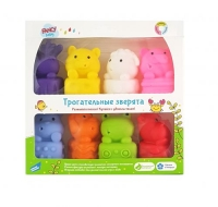 """Игрушки для ванной """"Трогательные зверята"""" Fancy Baby. 36738"""