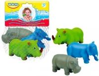 """Набор игрушек для купания """"Африка"""" (3 шт) BeBeLino. 36748"""