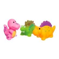 """Набор игрушек для купания """"Динозаврики"""" (3 шт) BeBeLino. 36749"""