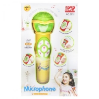 Микрофон музыкальный с эффектами (желтый) KX. 39962
