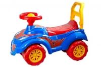 Машинка-толокар Спайдер синий Технок. 40307