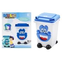 Музыкальный мини контейнер (синий) JIADIHONG. 39022