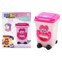 Музыкальный мини контейнер (розовый) JIADIHONG. 39021