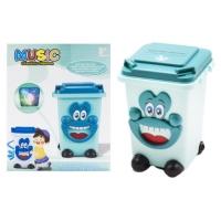 Музыкальный мини контейнер (бирюзовый) JIADIHONG. 39019