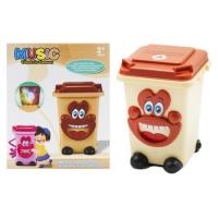 Музыкальный мини контейнер (коричневый) JIADIHONG. 39020