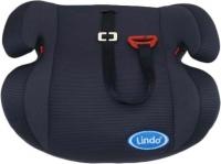 Автокресло-бустер черный HB Lindo. 40156