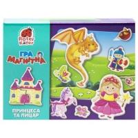 """Настольная игра """"Принцесса и рыцарь"""" (укр) Vladi Toys. 35923"""