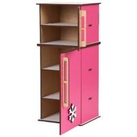 Холодильник деревянный для кукол BigEcoToys. 37567