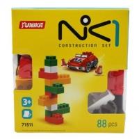 """Пластиковый конструктор """"NIK-1"""", 88 дет Юника. 36643"""