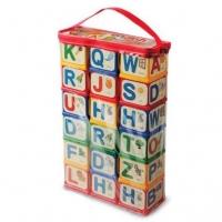 "Кубики ""English Alphabet"", 18 шт Юника. 39910"