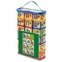 "Кубики ""Абетка з розмальовкою"", 18 шт Юника. 39911"