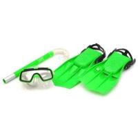 Набор для плавания зеленый JIADIHONG. 36102