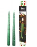 Свечи со стекающими разноцветными каплями, 26 см Partylandia. 40348