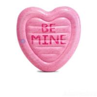 Матрас Карамельное сердце, розовый Intex. 36056