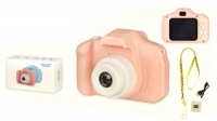 Цифровая Digital камера, розовая JIADIHONG. 39966
