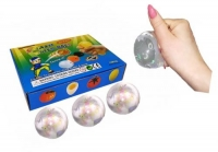 "Набор антистресс игрушек ""Мячик голограмма"", 12 штук JIADIHONG. 35639"