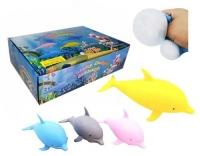 """Набор антистресс игрушек """"Дельфин"""", 12 штук JIADIHONG. 35634"""