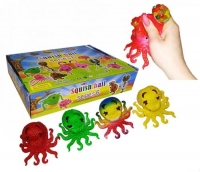 """Набор антистресс игрушек """"Осьминожка с орбизами"""", 12 штук JIADIHONG. 35641"""