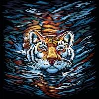 "Картина по номерам ""Тигр"" укр Dankotoys. 35313"