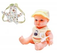 "Пупс резиновый ""Baby Kid"", желтый 12101 JIA YU TOY. 38785"