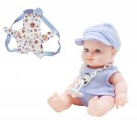 "Пупс резиновый ""Baby Kid"", голубой 12101 JIA YU TOY. 38784"