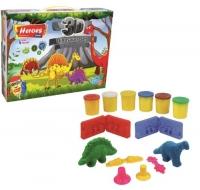 """Набор теста для лепки """"Динозаврики"""" E Play-Toy. 39393"""