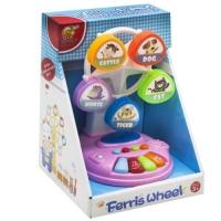 """Музыкальный вентилятор """"Ferris Wheel"""", розовый Chuangfa Toys. 39015"""
