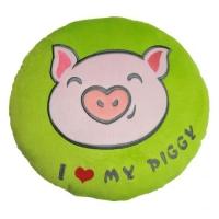 """Подушка """"I love my piggy"""" TIGRES. 40387"""