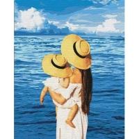 """Картина по номерам """"Шепот моря"""" Идейка. 35340"""