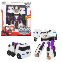 "Трансформер ""Max Robot"", белый Ziyu Toys. 38084"
