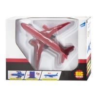 Самолет инерционный, красный SHANTOU. 37410