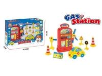 """Набор """"Автозаправочная станция с машинкой"""" Happyrise Games. 37392"""