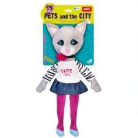 """Плюшевая игрушка """"Кошечка Сьюзет"""" JIADIHONG. 38680"""