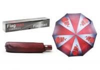 """Зонтик складной """"Flagman. Орхидея"""", красный Flagman. 34956"""