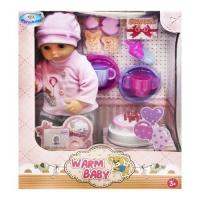 """Пупс """"Warm Baby. День рождения"""", в костюмчике Warm Baby. 38746"""
