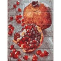 "Картина по номерам на дереве ""Гранат"" Art Story. 35367"