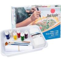 Набор для рисования картин на воде Эбру Red Apple. 39640